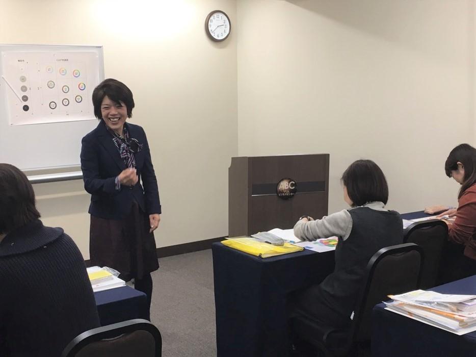 (一社)日本カラリスト協会スキルアップセミナー【色感トレーニング】講師